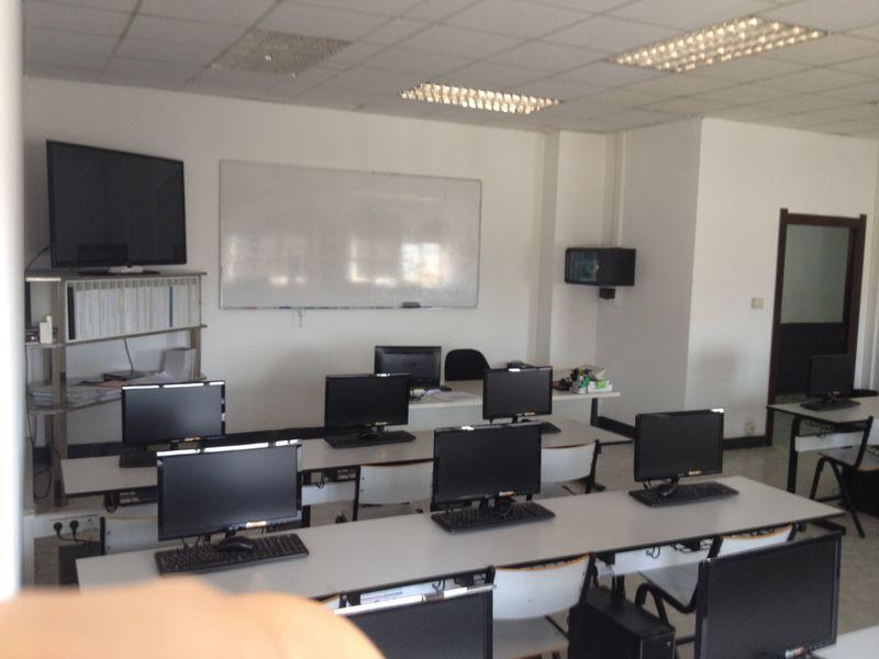 NTP Fromación, aulas