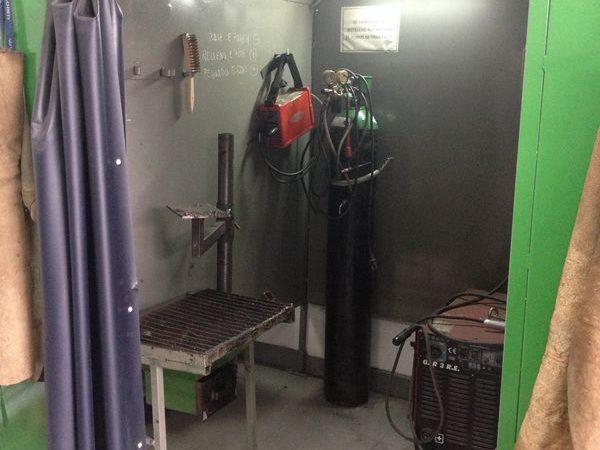 NTP Formación, taller de soldadura