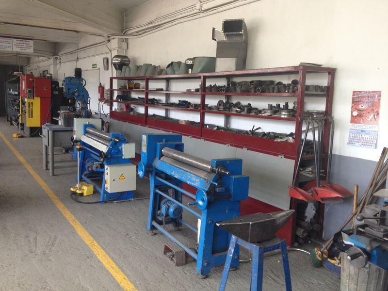 NTP Formación, taller de calderería y tubería