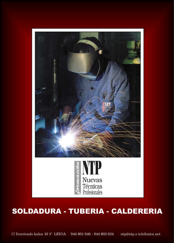 NTP Formación, folleto informativo